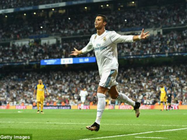 Ronaldo chói sáng ngày trở lại, cứu rỗi Real Madrid