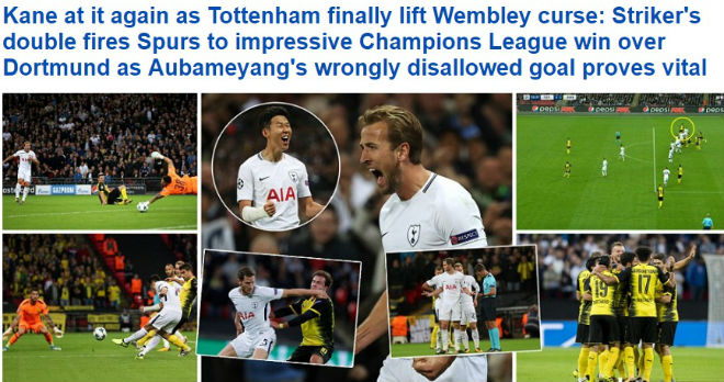 """Báo chí Anh: Tottenham & Man City được """"tung lên mây"""", quá tiếc cho Liverpool - 1"""