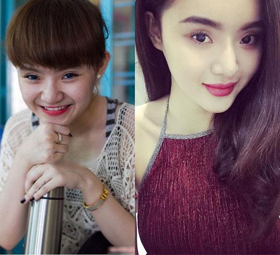 """Không kém chị, em gái Angela Phương Trinh cũng có bờ môi """"ảo thuật"""" - 1"""