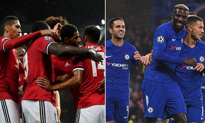 """Đại gia Anh bùng nổ ở Cup C1: MU, Chelsea vẫn là """"hạng 2"""" - 1"""