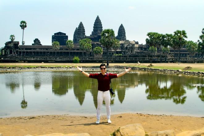 MC Nguyên Khang đi phượt Campuchia với 5 triệu đồng - 1