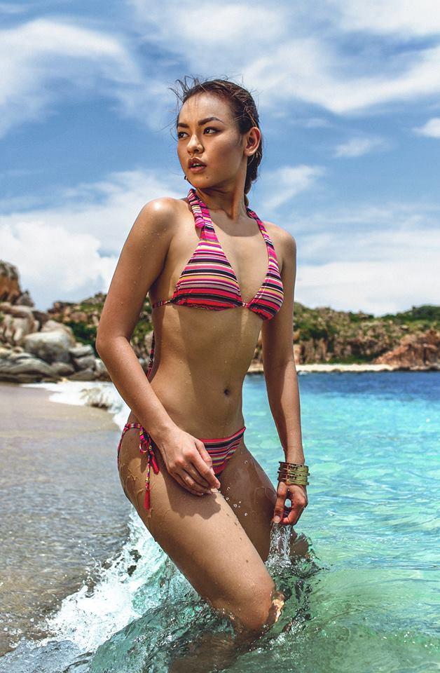 Top 3 chân dài có hình thể xuất sắc tại Hoa hậu Hoàn vũ Việt Nam 2017 - 13