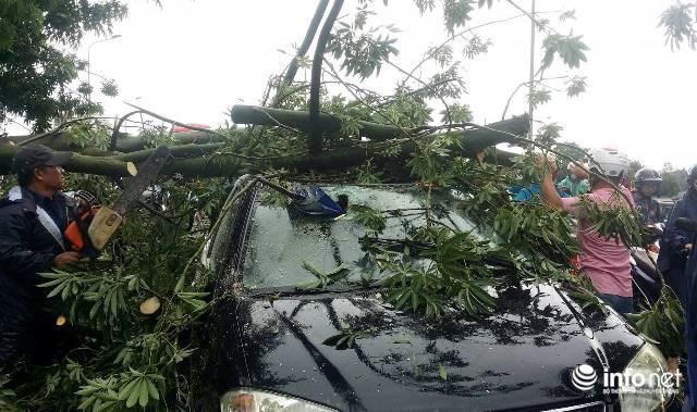 Siêu bão số 10 áp sát đất liền: Toàn bộ học sinh Quảng Trị, Huế nghỉ học - 2