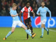 Bóng đá - Feyenoord - Man City: Sấp mặt sau những đòn phủ đầu