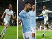 Bóng đá - Siêu tiền đạo Champions League rực sáng: Ronaldo hòa nhịp Kane, Aguero