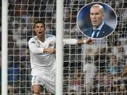 """Bóng đá - Cúp C1: Real đại thắng, Zidane """"đòi"""" poker cho Ronaldo"""