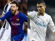 """Bóng đá - Messi """"công nhân"""" đấu Ronaldo """"ăn sẵn"""": Barca & Real trên vai siêu sao"""
