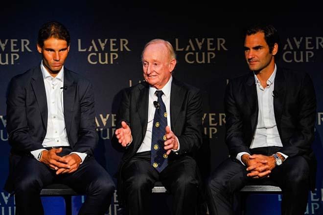 Cặp đôi vĩ đại nhất lịch sử: Nadal - Federer chung đội, áp đảo quần hùng - 2