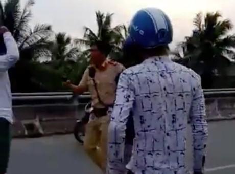 """""""CSGT rút súng xử lý vi phạm giao thông ở Bình Đại đúng luật"""" - 2"""
