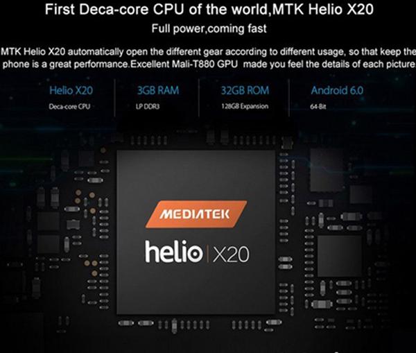 Smartphone thiết kế tuyệt đẹp, chip 10 nhân, Ram 3G giá hơn 3 triệu đồng - 3