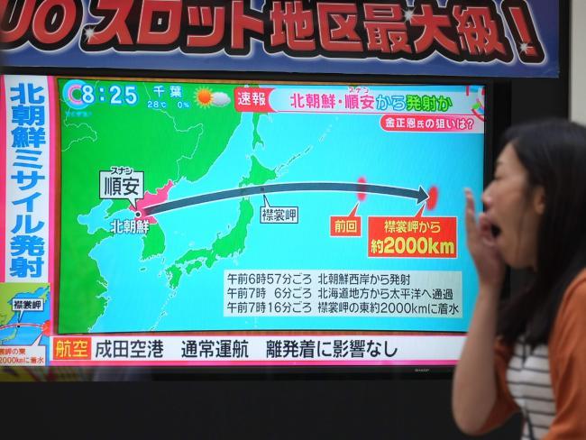 """Lí do Nhật Bản """"bất lực"""" nhìn tên lửa Triều Tiên bay qua - 3"""