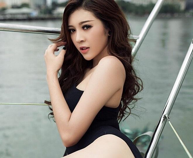 """Ảnh bikini """"rát mắt"""" của 2 mỹ nữ nuột nà thi Hoa hậu Hoàn vũ - 4"""