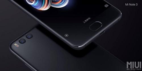 Xiaomi Mi Note 3 vừa ra mắt, giá mềm - 2