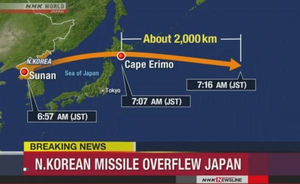 Mỹ nói gì sau vụ thử tên lửa bay xa nhất của Triều Tiên? - 2