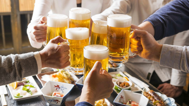 Cách người Nhật bảo vệ đại tràng khi hay uống rượu bia - 1