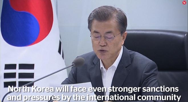 Tổng thống HQ gửi cảnh báo lạnh người đến Triều Tiên - 1