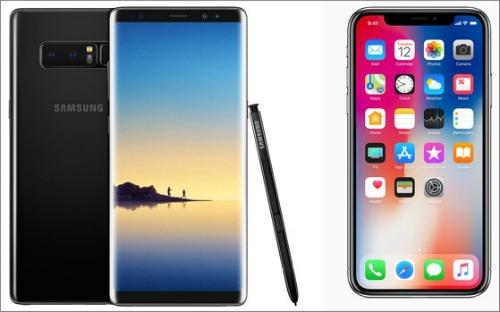 iPhone X so găng cùng Galaxy Note 8: Ai ngon hơn? - 3