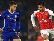 Chelsea đấu Arsenal: Wenger cầu cứu Sanchez, Hazard sắm vai sát thủ
