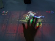 Video: Chơi game chém trái cây trên mặt bàn như... khoa học viễn tưởng