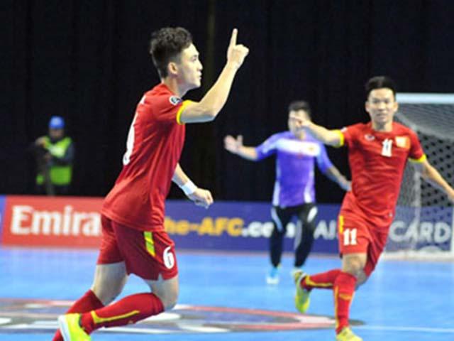 Đoàn Việt Nam tại AIMAG 16/9: Huy chương đầu tiên, futsal thua sốc
