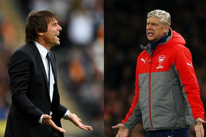 """Đại chiến Chelsea - Arsenal: Conte sợ hãi """"đòn tẩy"""" của Wenger - 1"""