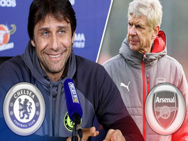 """Đại chiến Chelsea - Arsenal: Conte sợ hãi """"đòn tẩy"""" của Wenger"""