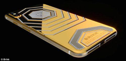 CHOÁNG: Xuất hiện iPhone X độ vàng giá 1,6 tỷ đồng - 3