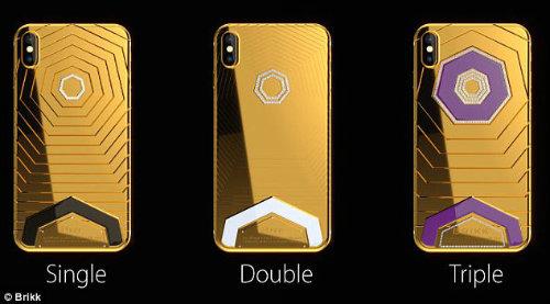 CHOÁNG: Xuất hiện iPhone X độ vàng giá 1,6 tỷ đồng - 2