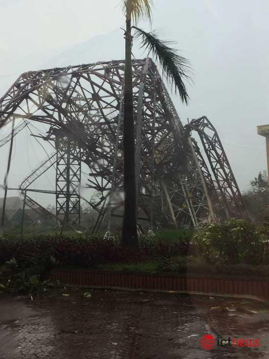 Ảnh hưởng bão số 10, nhiều nơi mất mạng internet - 1