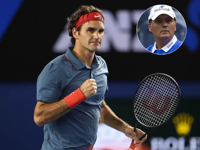 """Vi ngai vàng Grand Slam, Federer có dám """"bái sư"""" chú Nadal? - 2"""