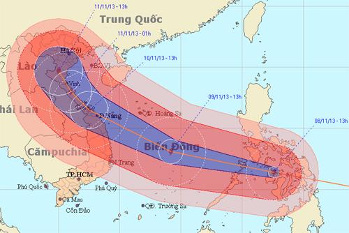 Những cơn bão khủng khiếp nhất đổ bộ vào Việt Nam trong 10 năm qua - 2