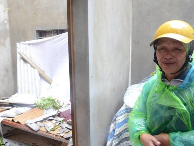 Vẫn còn nhiều nơi ở Thanh Hóa bị cô lập sau bão - 4
