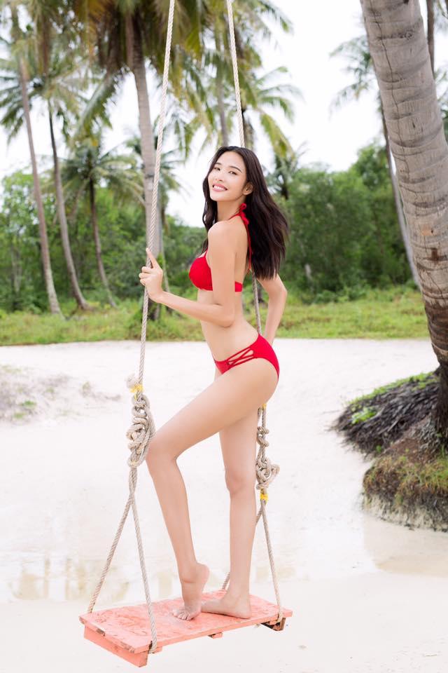 """Bất ngờ trước nhan sắc """"ảnh hậu"""" Hoa hậu Hoàn vũ Việt Nam - 4"""