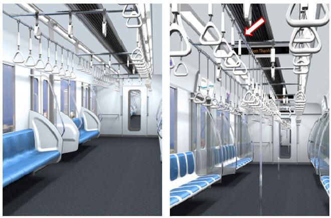 Lộ diện mẫu thiết kế tàu metro Sài Gòn mô phỏng đầu máy bay - 7