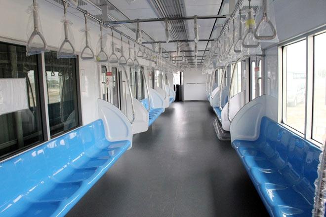 Lộ diện mẫu thiết kế tàu metro Sài Gòn mô phỏng đầu máy bay - 6