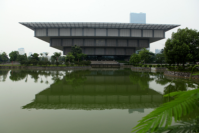 """Bảo tàng Hà Nội """"rỗng ruột"""" sau 7 năm khánh thành - 1"""