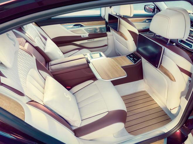 BMW M760Li Nautor's Swan: Xe sang cảm hứng du thuyền - 5