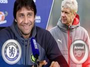"""Bóng đá - Đại chiến Chelsea - Arsenal: Conte sợ hãi """"đòn tẩy"""" của Wenger"""