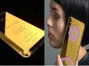 Dế sắp ra lò - CHOÁNG: Xuất hiện iPhone X độ vàng giá 1,6 tỷ đồng