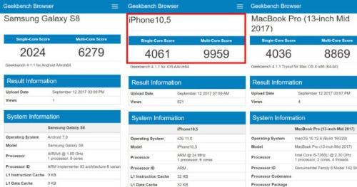 """Chip A11 của iPhone X là """"mãnh thú"""" trong dòng chip xử lý - 1"""
