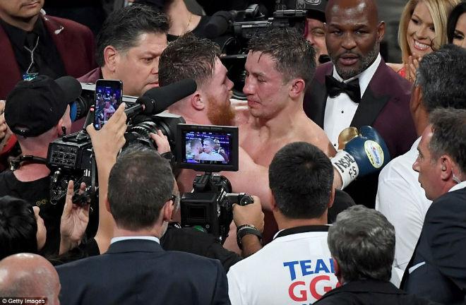 """Boxing kinh điển Golovkin - Alvarez: Tập 1 nóng hổi, chờ tập 2 """"máu lửa"""" - 1"""