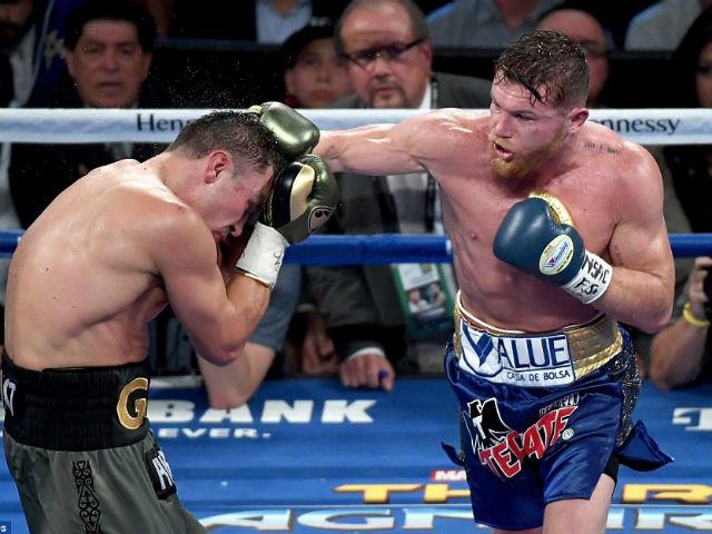 """Boxing kinh điển: """"Độc cô cầu bại"""" Golovkin hẹn tái đấu kình địch Alvarez"""