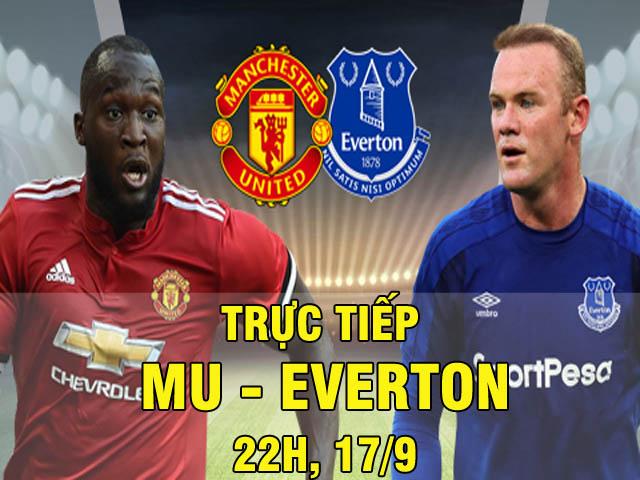 TRỰC TIẾP MU - Everton: Khách tăng tốc, Rooney liên tục có cơ hội