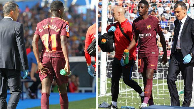 """""""Bom tấn"""" Dembele: Gặp họa như Neymar, nghỉ 4 tháng, Barca lo ngay ngáy - 1"""