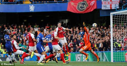 Chi tiết Chelsea - Arsenal: Chủ nhà tạm hài lòng (KT) - 11