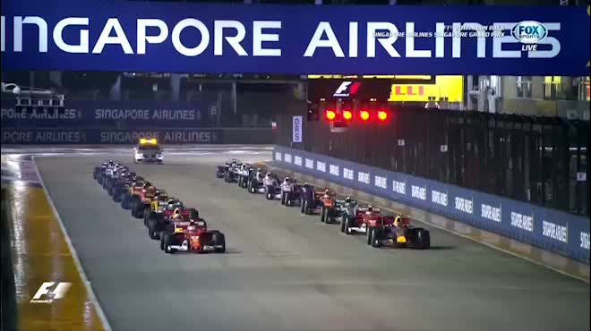 """Đua xe F1, Singapore GP: """"Ngựa chiến"""" tự sát, """"Mũi tên bạc"""" chạm vinh quang"""