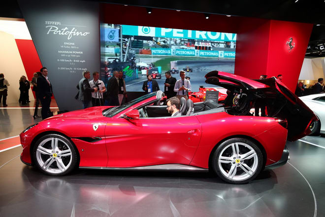 Cận cảnh thực tế Ferrari Portofino hoàn toàn mới - 3
