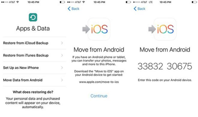 Ba cách chuyển địa chỉ liên hệ từ Android sang iPhone - 2