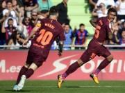 """Bóng đá - Messi """"im tiếng"""", Barca lên đỉnh La Liga nhờ """"hàng thải Trung Quốc"""""""