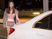 """""""Mỹ nữ Vũng Tàu đi xe 70 tỷ"""" sang chảnh ở sân bay NÓNG nhất tuần"""